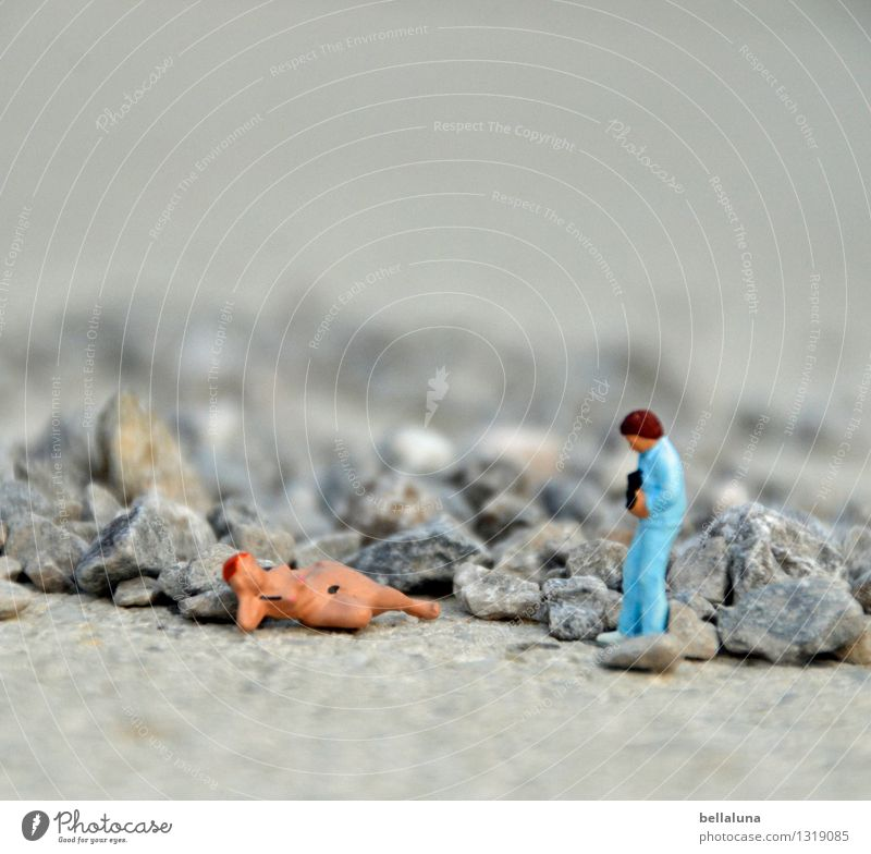 Akt - Klappe die vierte - der Fotograf im Steinbruch Mensch Frau Jugendliche Mann nackt schön Junge Frau Erotik Junger Mann 18-30 Jahre Erwachsene Leben