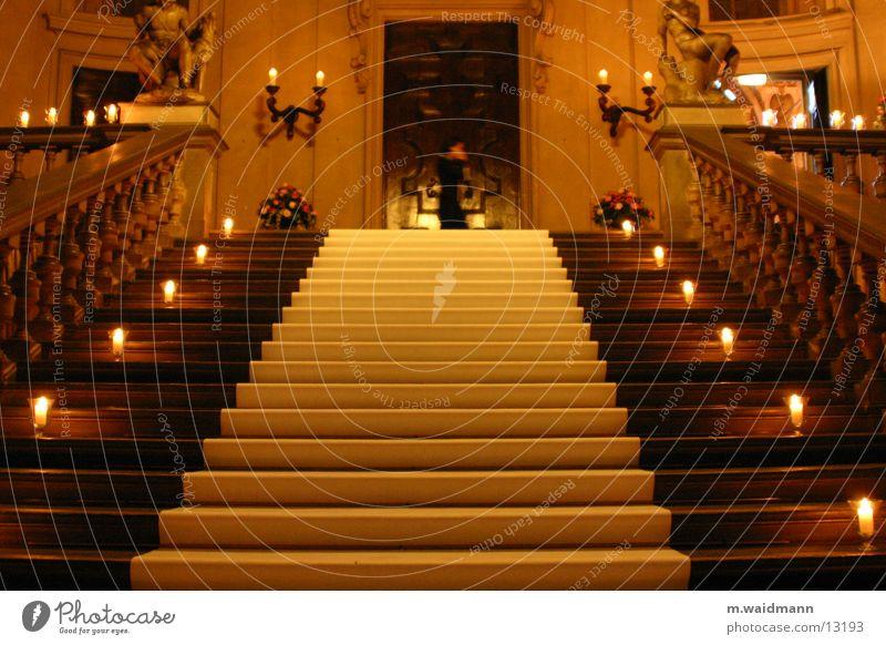 perfekter zufall Kerze Treppe Feste & Feiern Reichtum Licht