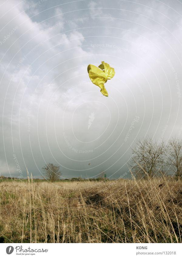 free your soul Textilien Stoff Schneider Schweben Flugzeug Luft luftig flattern Geister u. Gespenster Wolken schlechtes Wetter gefroren Momentaufnahme