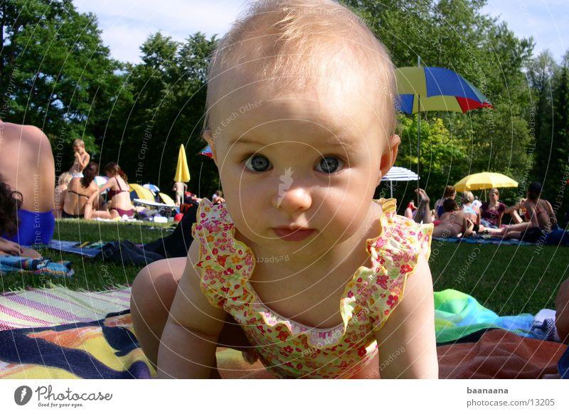 Mein Baby ;) Sonne Sommer niedlich Schwimmbad Kind