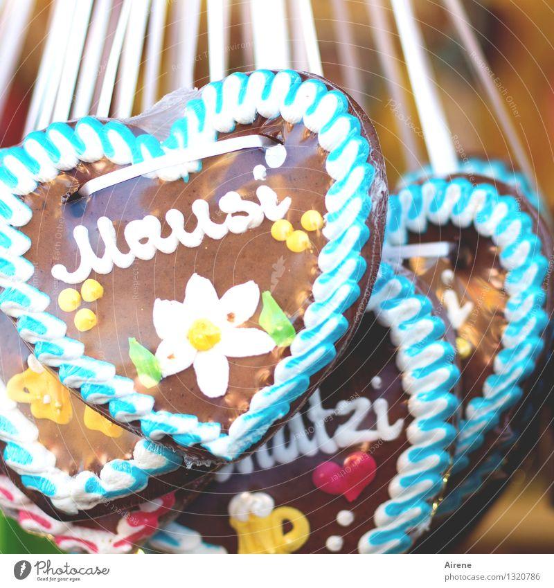 herzig's Mausi Süßwaren Lebkuchen Lebkuchenherzen Feste & Feiern Oktoberfest Jahrmarkt Folklore Tradition Ritual Kitsch Krimskrams Souvenir Schriftzeichen