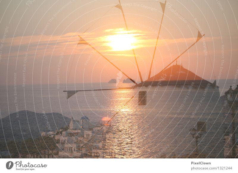 Santorin Ferien & Urlaub & Reisen schön Meer Landschaft ruhig Lifestyle Stimmung träumen Tourismus Insel Wellness Meditation Schifffahrt Sommerurlaub Reichtum