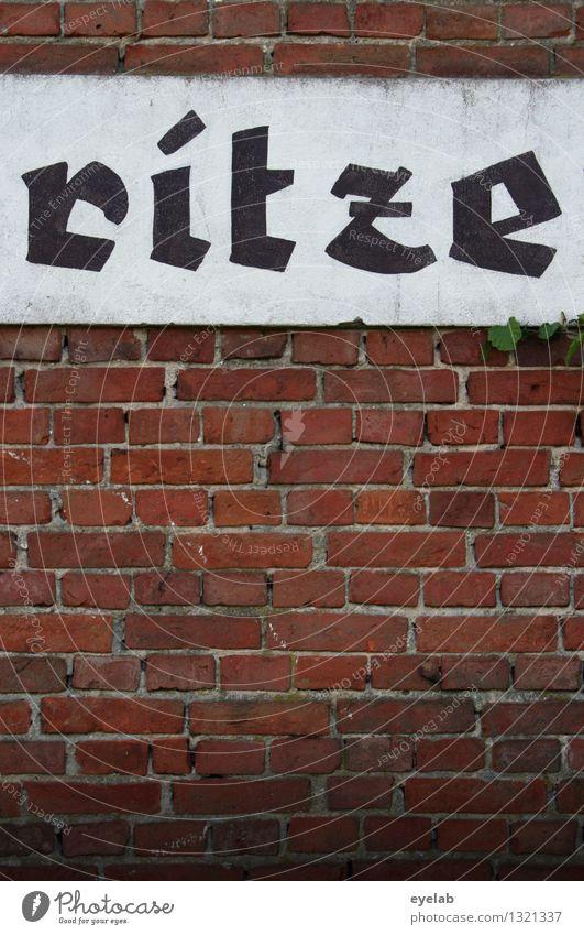 ...ratze Stadt alt Haus Wand Architektur Gebäude Mauer Stein Metall Fassade Dekoration & Verzierung dreckig Schilder & Markierungen Schriftzeichen Hinweisschild