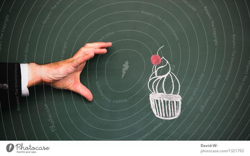 meins Mensch Hand Gesunde Ernährung Leben Essen Gesundheit Lifestyle Kunst Lebensmittel maskulin Geburtstag süß lecker Süßwaren Restaurant Übergewicht