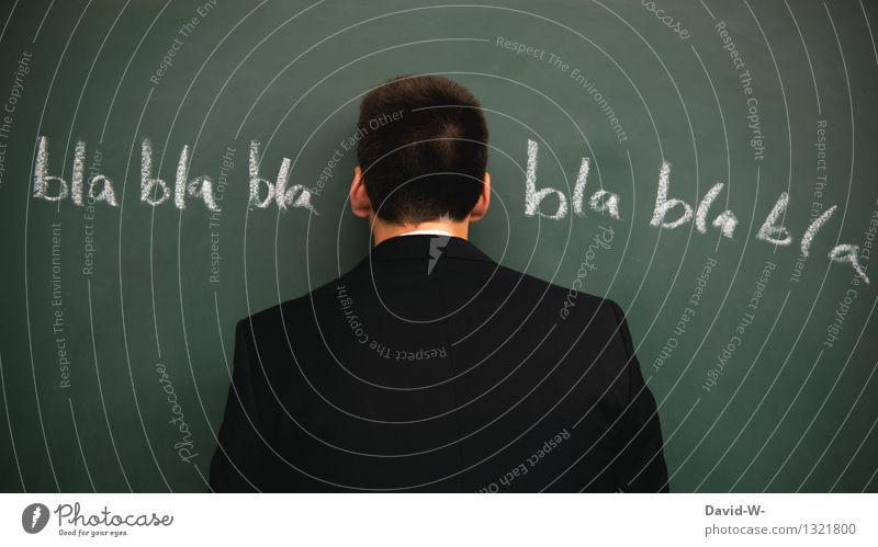 links rein und rechts wieder raus Tafel Lehrer Beruf Arbeitsplatz Telekommunikation Business Mensch maskulin Junger Mann Jugendliche Erwachsene Leben 1