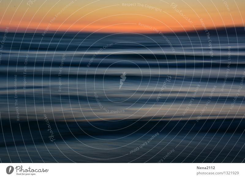 Fernweh Umwelt Natur Landschaft Wasser Himmel Wetter Schönes Wetter Wellen Küste Strand Nordsee Ostsee Meer Insel ästhetisch außergewöhnlich fantastisch blau