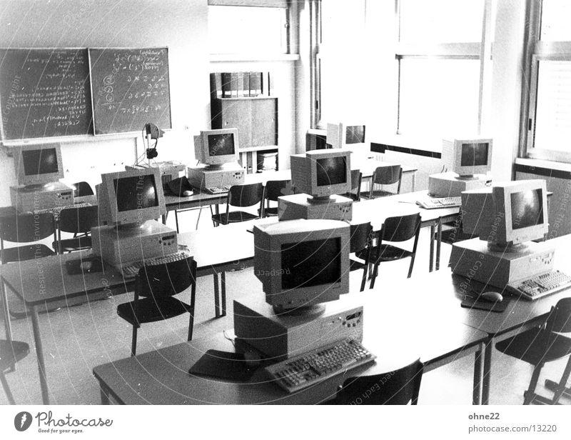 informatikraum Computer Schilder & Markierungen Technik & Technologie Klassenraum Elektrisches Gerät
