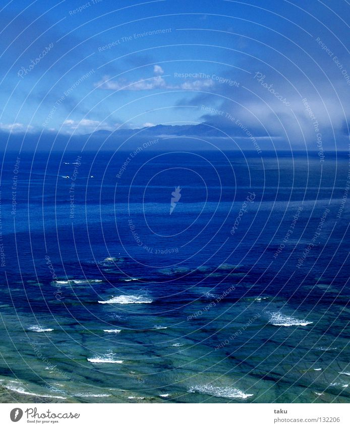 OCEAN schön Himmel weiß Meer blau Wolken Berge u. Gebirge Wellen wandern Horizont fantastisch türkis Erinnerung Neuseeland Wal hell-blau
