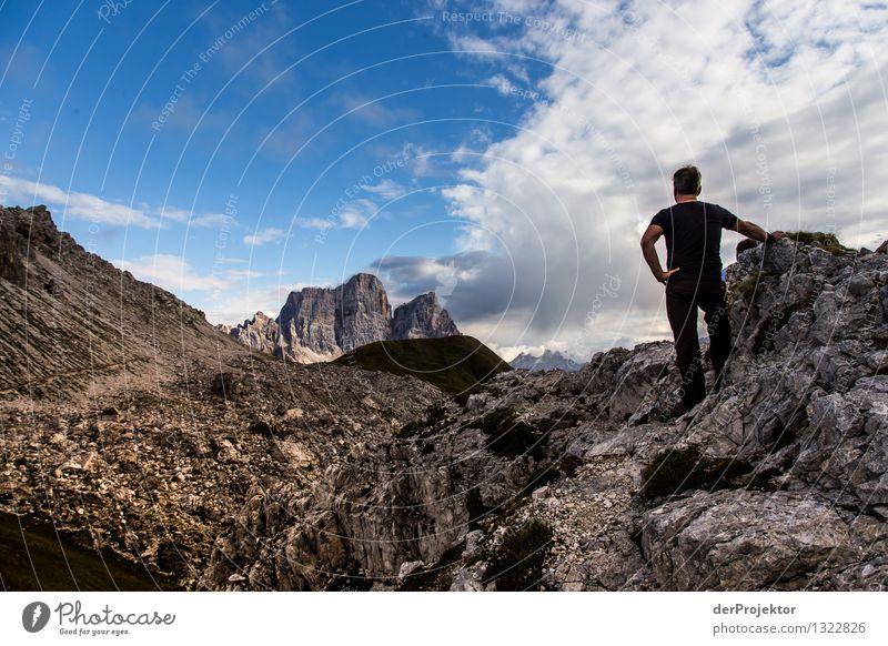 Rücklick auf die letzte Etappe Natur Ferien & Urlaub & Reisen Pflanze Sommer Landschaft Wolken Tier Ferne Berge u. Gebirge Umwelt Freiheit Felsen Tourismus