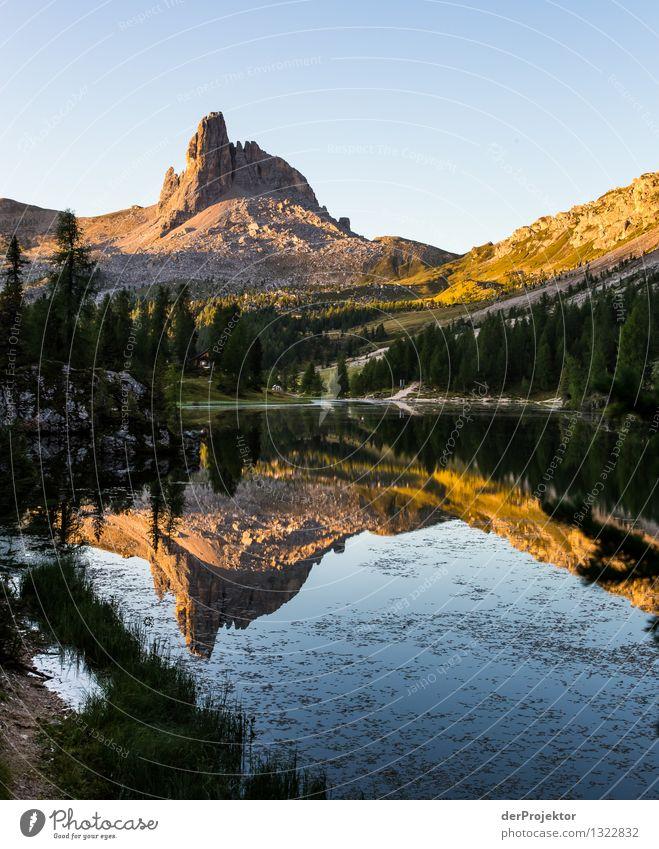 Guten Morgen Croda da Logo Ferien & Urlaub & Reisen Tourismus Ausflug Abenteuer Ferne Freiheit Berge u. Gebirge wandern Umwelt Natur Landschaft Pflanze