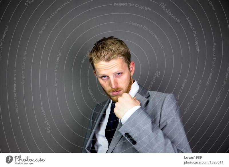 Kleider machen Leute Mensch Jugendliche Mann schön Erotik Junger Mann 18-30 Jahre Erwachsene Stil Lifestyle Mode Business Arbeit & Erwerbstätigkeit maskulin Design Büro