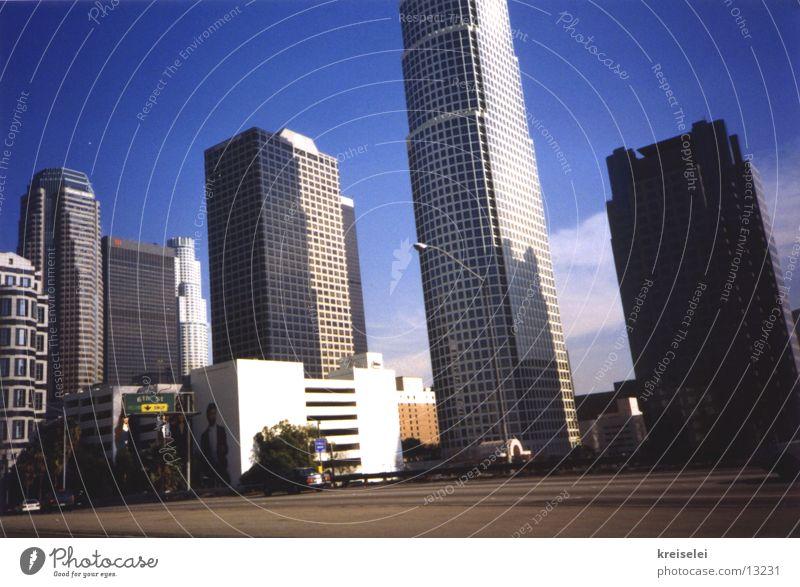 L.os Angeles Stadt Gebäude Architektur Hochhaus Amerika Los Angeles
