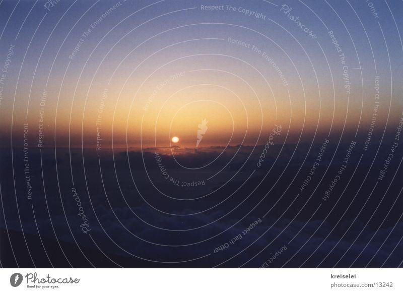 über den Wolken2 Sonne