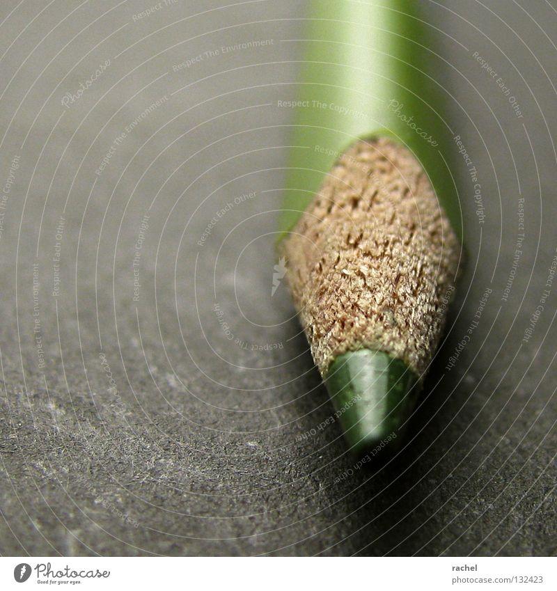 Sich vor Schreibkram drücken... grün Farbe Holz Kunst Freizeit & Hobby Spitze schreiben Grafik u. Illustration Kreativität Schreibtisch zeichnen Gemälde Handwerk Schreibstift Entwurf