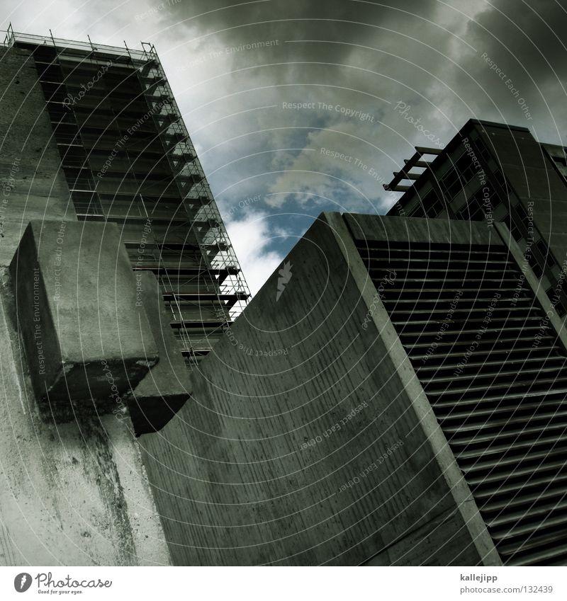 mados day Haus Fenster träumen Gebäude Architektur Wohnung Beton Hochhaus Studium Niveau Baustelle Wunsch fangen festhalten Etage Teller