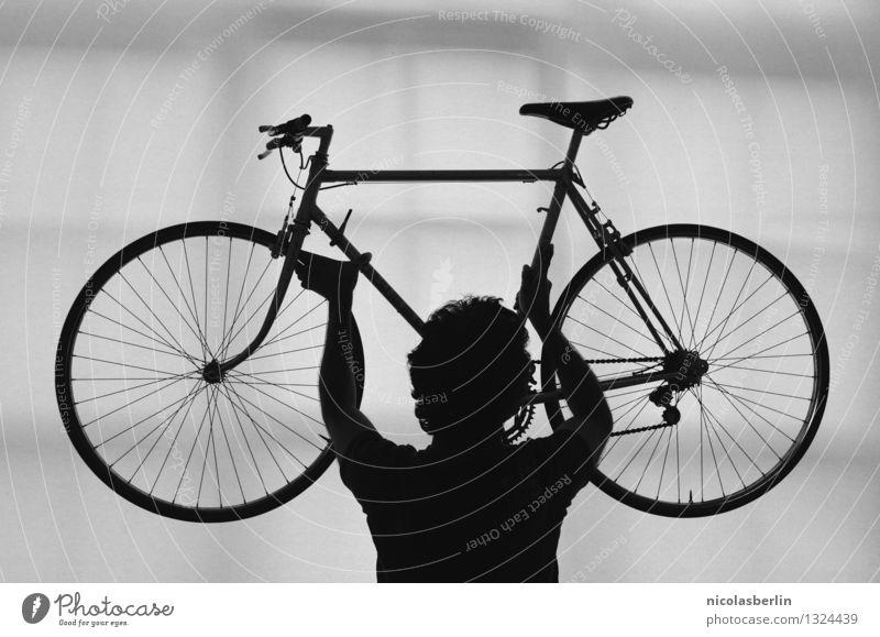 Fit durch den Winter Lifestyle Design Freizeit & Hobby Ausflug Abenteuer Freiheit Expedition Fahrradtour Sport Fitness Sport-Training Sportler Pokal Erfolg