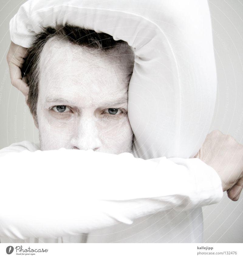 white model army Mensch Mann weiß Tier Farbe Gesicht Auge Haare & Frisuren hell Arme Nase verrückt Zähne Lippen Maske Konzentration