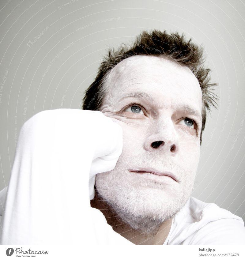 jetzt ne milschnitte Mensch Mann weiß Tier Farbe Gesicht Auge Haare & Frisuren Kunst hell Arme Nase verrückt Zähne Lippen Maske