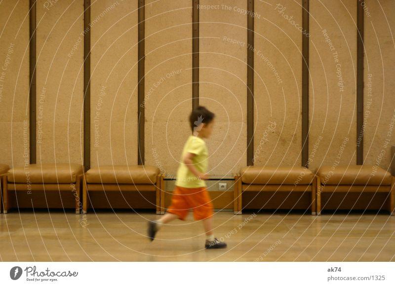Lauf Forest lauf Kind Mann rennen laufen Junge