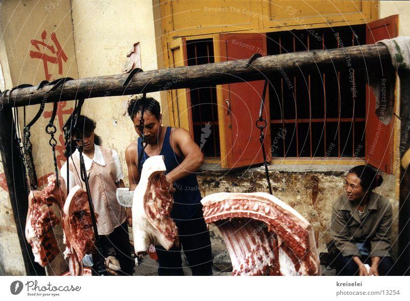 es gibt fleisch baby Ferien & Urlaub & Reisen China Blut Fleisch Asiate Chinese Metzger Asien brutal Los Angeles