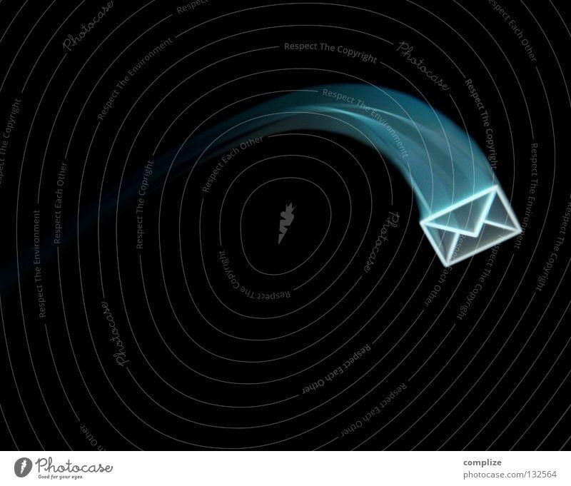 Email für Dich! Briefkasten Informationstechnologie laufen Schriftstück Computer Luftverkehr neu Kontakt Internet Papier Post E-Mail Aktien Kunde