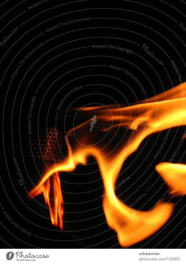 liquid fire Brand Feuer heiß Asien Erholung Natur Freiheit Außenaufnahme Wind dunkel Sommer Kraft Zufriedenheit schwarz Flamme