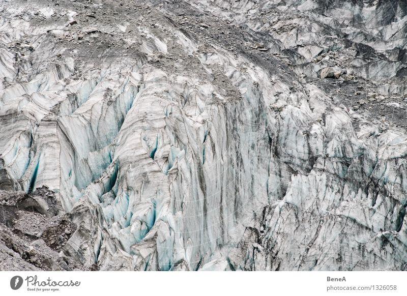 Gletscher Natur alt Wasser Landschaft Winter kalt Berge u. Gebirge Umwelt Senior Schnee Sand Eis dreckig Klima Spitze Vergänglichkeit