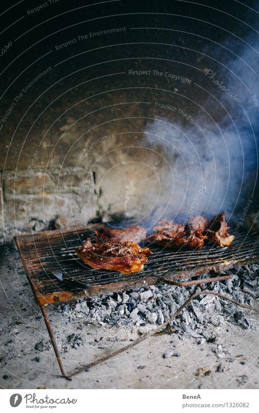 Asado Essen Lebensmittel Ernährung Kochen & Garen & Backen einfach lecker sportlich Grillen Fleisch Abendessen Picknick Mittagessen Festessen Südamerika Büffet