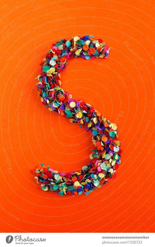 S Kunst Design ästhetisch Kreativität Idee Buchstaben Punkt Typographie Kunstwerk Konfetti alphabetisch