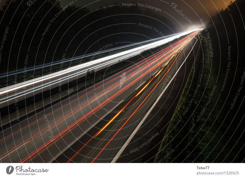 Autobahn II Straße Bewegung PKW Verkehr ästhetisch Verkehrswege Fahrzeug Lastwagen Autofahren Straßenverkehr Verkehrsmittel