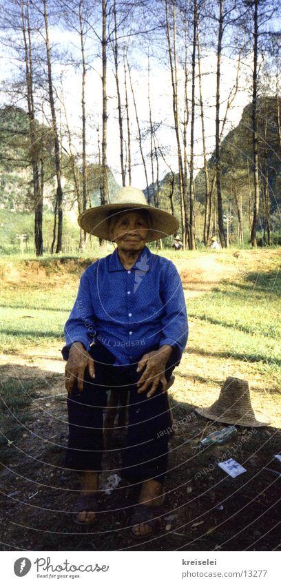 alte Frau Ferien & Urlaub & Reisen Senior Chinese Los Angeles Weiblicher Senior
