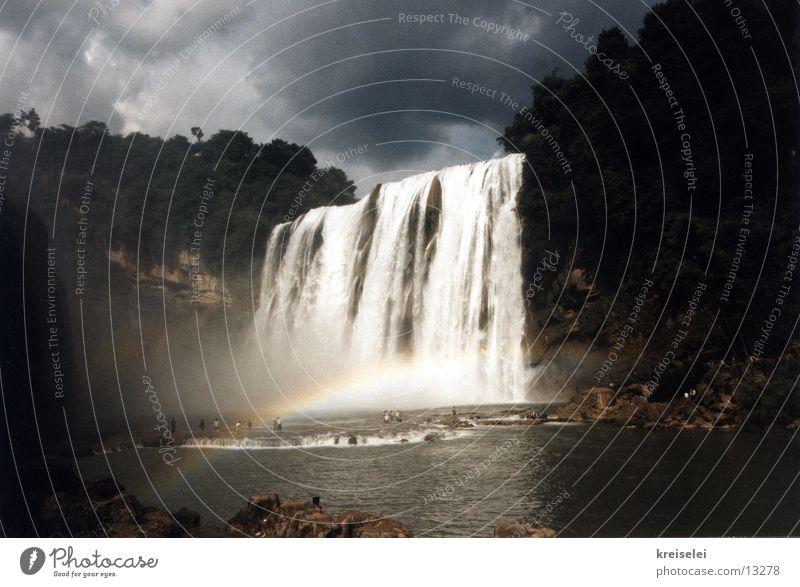 Wasserfall Ferien & Urlaub & Reisen China Los Angeles Natur