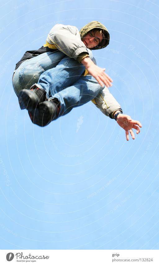 jump Freude springen Luft frei hüpfen