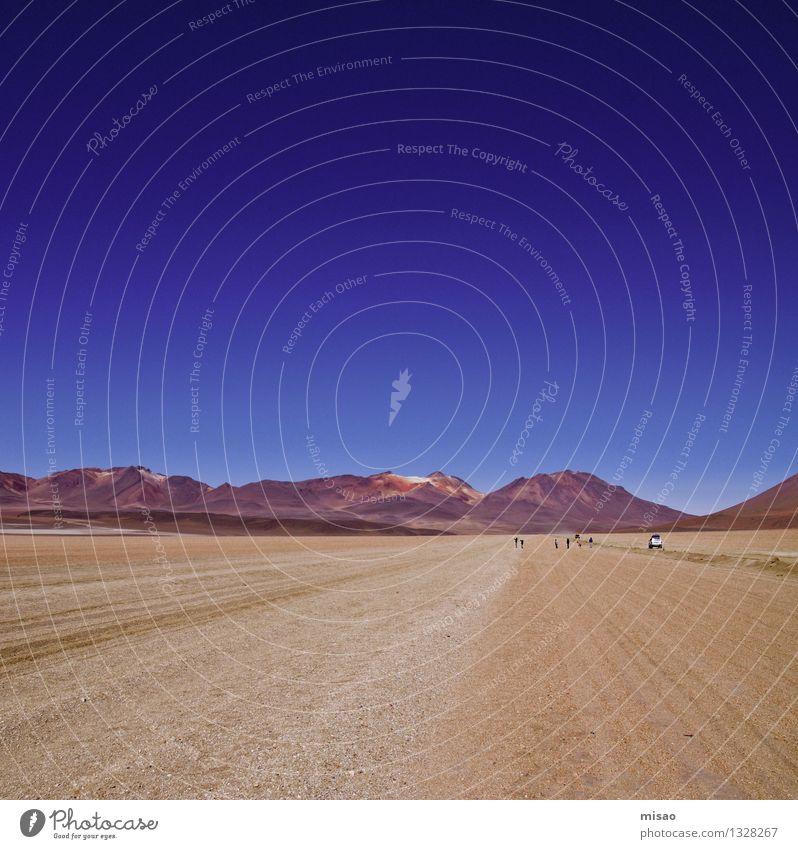 Dali und die Wüste Ferien & Urlaub & Reisen Tourismus Abenteuer Ferne Freiheit Mensch Menschengruppe Landschaft Erde Sand Himmel Schönes Wetter Berge u. Gebirge