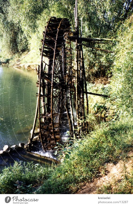 Wasserrad Ferien & Urlaub & Reisen Küste Energiewirtschaft Fluss Asien Los Angeles