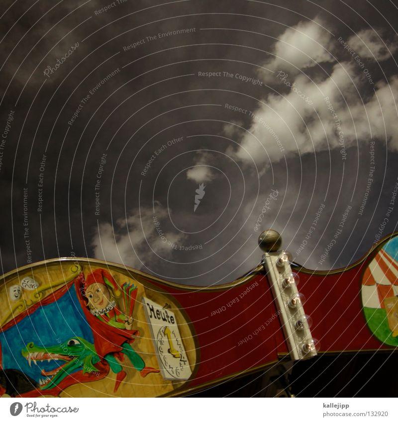 schnapp Mensch Himmel Mann Freude Leben träumen lustig Kindheit fliegen Erfolg Lifestyle Streifen Ball Gastronomie Hut Theater