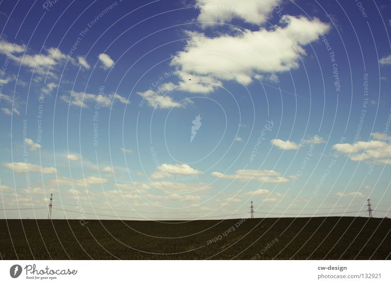 DREISAM. Himmel Natur Freude Wolken Farbe dunkel Landschaft Wiese Gefühle Gras klein Stil Luft hell Stimmung Kunst