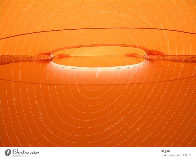 orange tent Zelt Dach Licht Architektur Bewegung Sonne Schatten