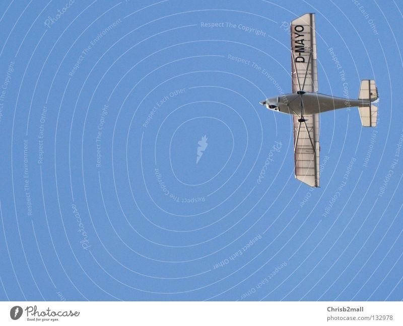 Facile aeroplane Freiheit Flugzeug authentisch Schönes Wetter leicht filigran Präzision Funsport