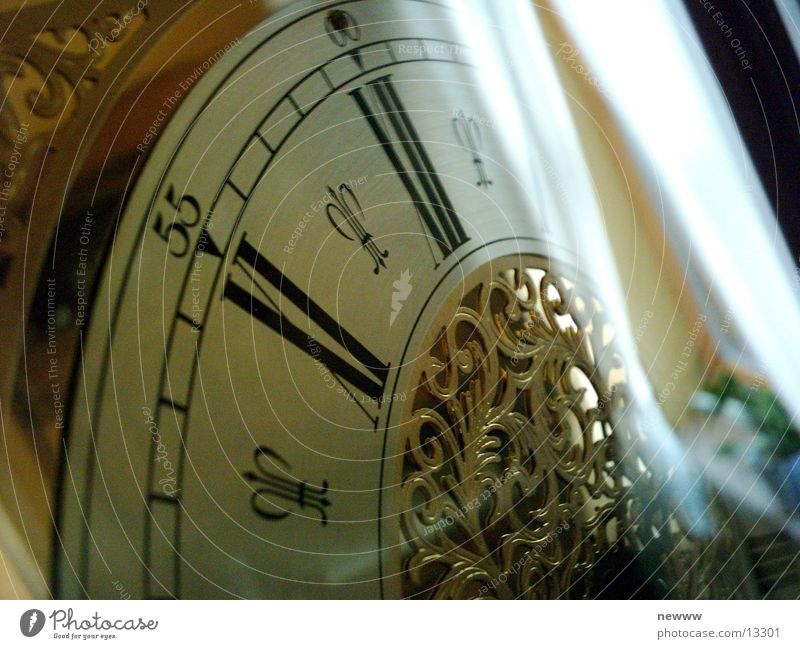 antike Uhr Zeit Häusliches Leben Zifferblatt