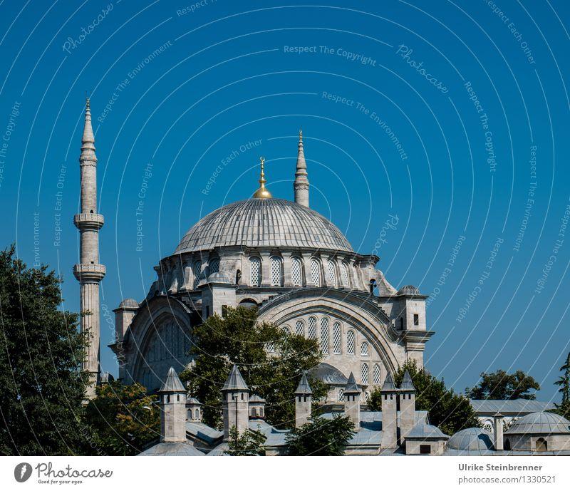 Minarette 5 Ferien & Urlaub & Reisen Tourismus Sightseeing Städtereise Istanbul Türkei Stadtzentrum Bauwerk Gebäude Architektur Moschee Turm Sehenswürdigkeit