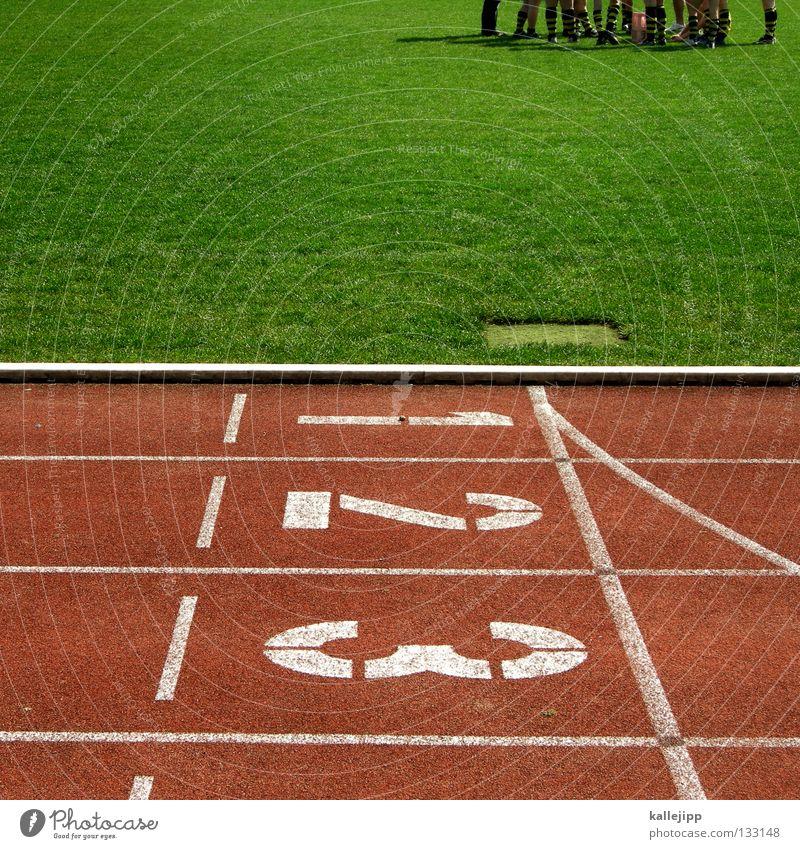 teamgeist grün Sommer Leichtathletik 1 Sport Spielen sprechen 2 Linie Deutschland gold Platz 3 Erfolg Sportmannschaft Rasen