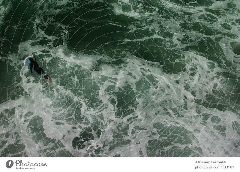 Weisswasser Wasser Meer Wellen Schwimmen & Baden Surfen Surfer Funsport Surfbrett Meerwasser Extremsport Wildwasser San Diego County Wellenbruch