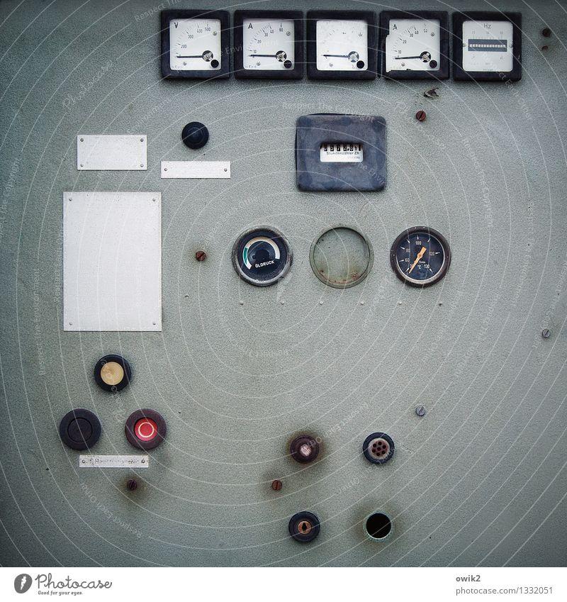 Siesta Design Zufriedenheit Energiewirtschaft Ordnung Schilder & Markierungen Technik & Technologie Ziffern & Zahlen viele Reihe Maschine Schalter stagnierend