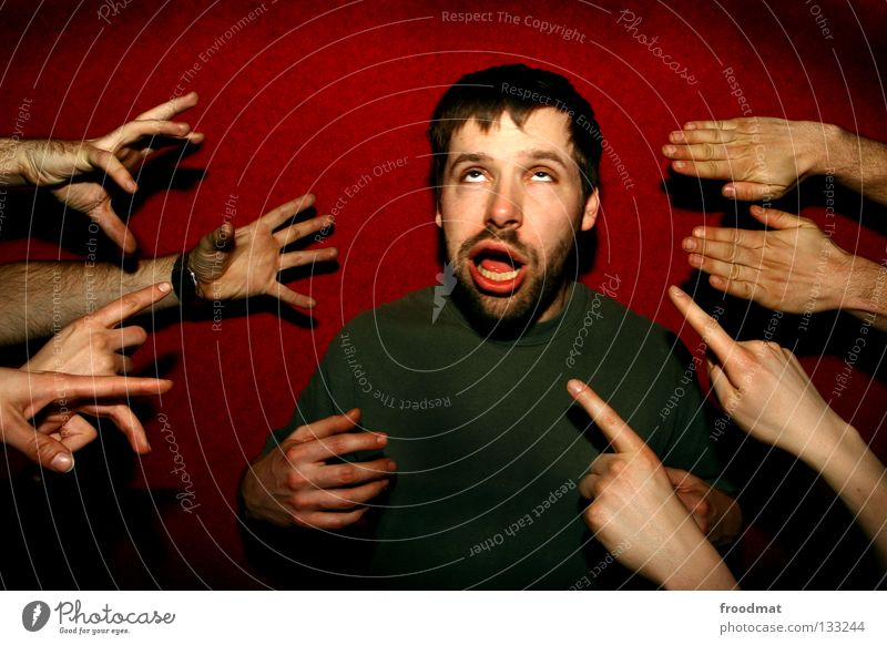 showcase rot Wand lustig absurd dumm Pornographie Bart gefroren verschoben Fan Quadrat Humor Ballsport Porträt Aktion Kapuze Alkoholisiert schmerzfrei