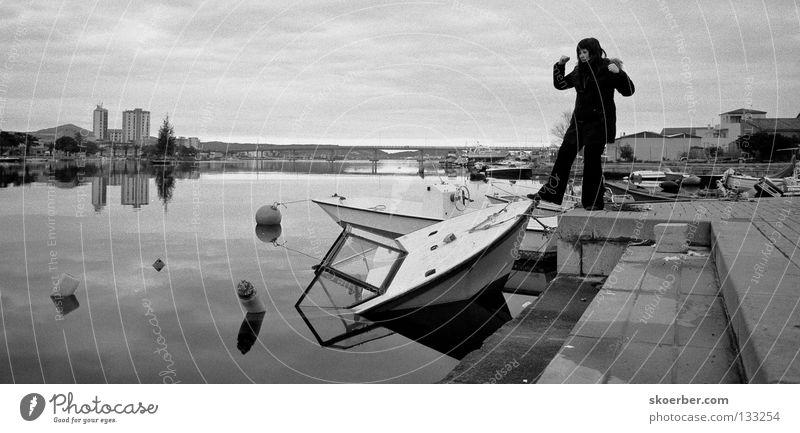 Schiffe versenken Ferien & Urlaub & Reisen Wasserfahrzeug Brücke Italien stark Sardinien kentern