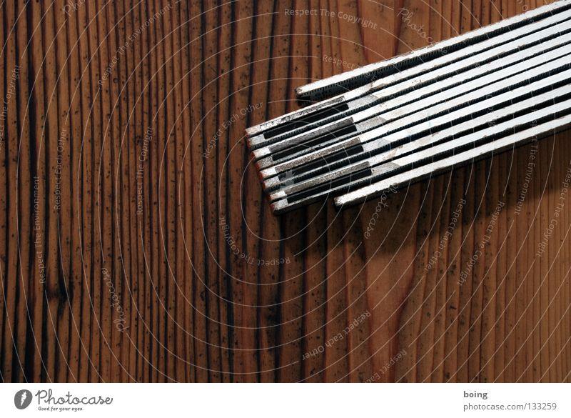 Flaschenöffner Ferne Holz nah Baustelle Bildung Teile u. Stücke Handwerk bauen Werkzeug Berufsausbildung Renovieren Lücke Qualität Bierflasche Meter Skala