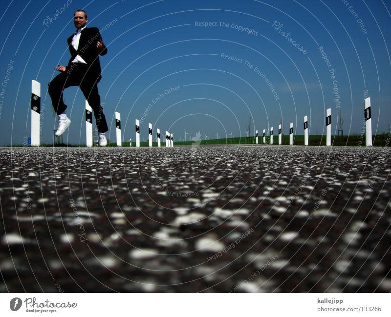 tanz in den mai Mensch Himmel Mann Freude schwarz Leben Gras Glück springen Business Arbeit & Erwerbstätigkeit Kraft Tanzen laufen Energiewirtschaft Verkehr