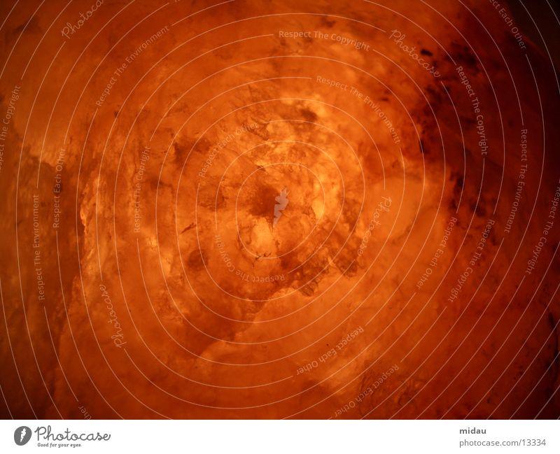salty rot gelb Stein Lampe Wärme orange Brand Kristallstrukturen Salz Explosion