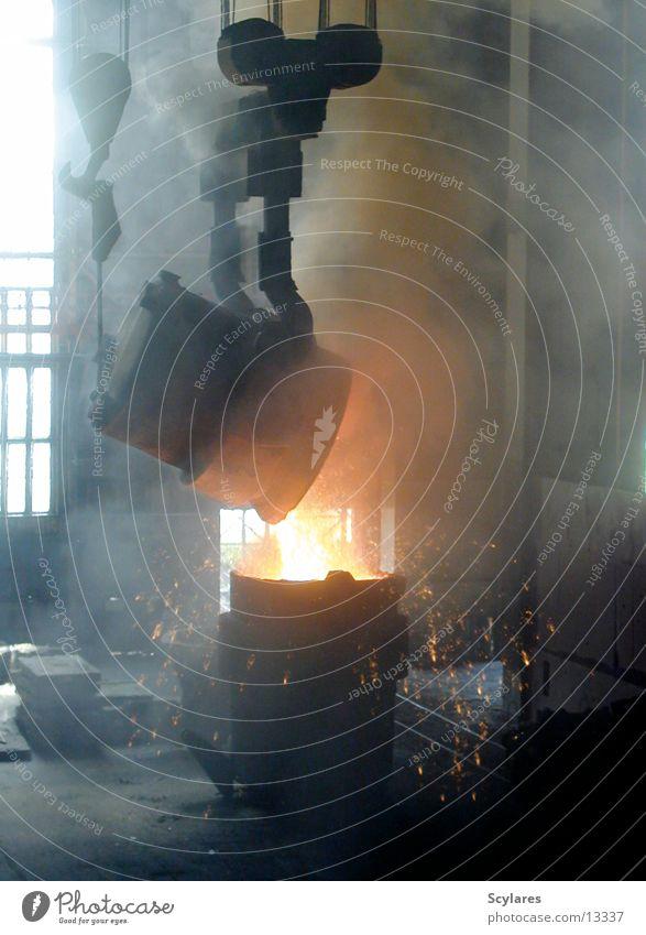Heiss!!! Wärme Industrie Physik Stahl Eisen Glut Produktion